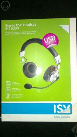 Слушалки Isy Ihs 6000 Stereo-headset