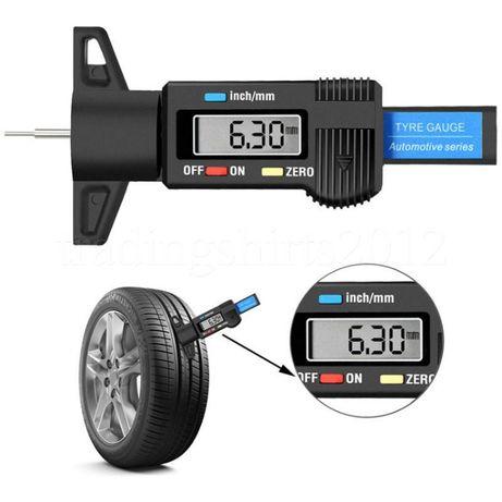 Дълбокомер за гуми - Дигитален и Изключително Точен Измерва Грайфера