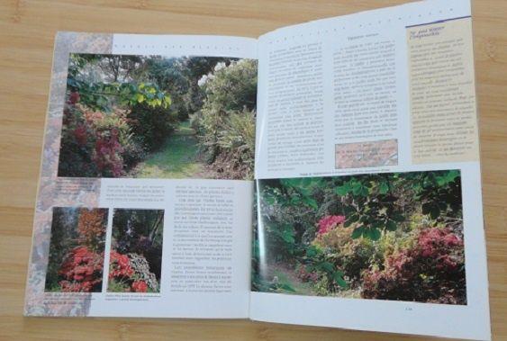 Carte album de peisagistica La Normandie. Des Jardins.
