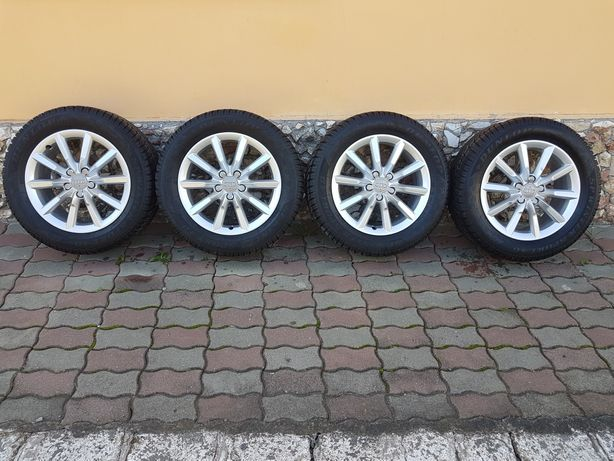Jante Audi Originale Q3, Q5, Q7, cu anvelope de iarna! Stare Perfectă