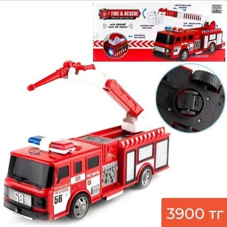 Пожарная машина интерактивная