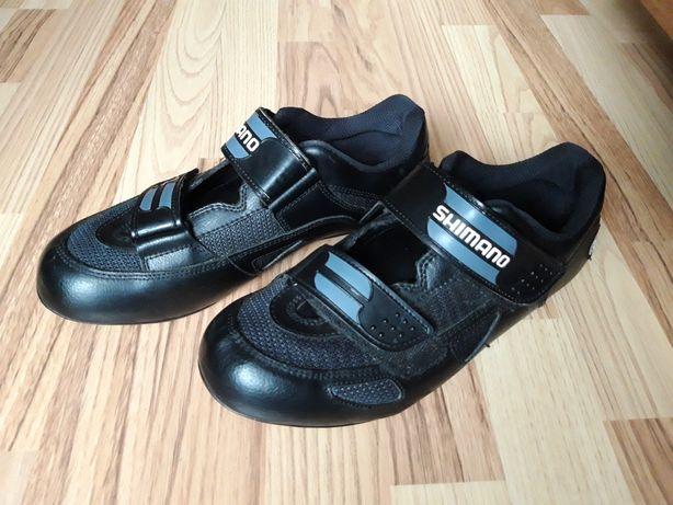 Vând Pantofi, adidași (încălțăminte) ciclism Shimano ptr plăcuțe spd