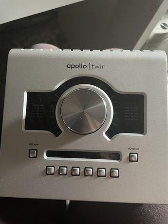 Apollo Twin Uad звуковая карта.
