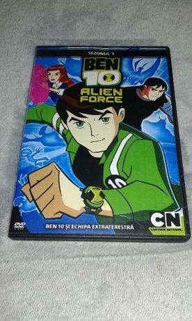 BEN 10 ALIEN FORCE - colectie 3 DVD - dublat romana