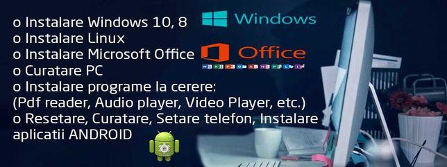 Instalare Windows, Office si alte servicii IT
