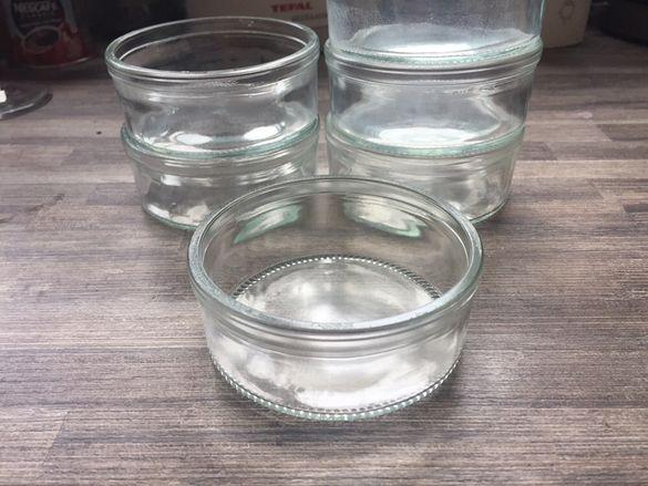 Огнеопорен стъклен комплект за крем карамел крем брюле