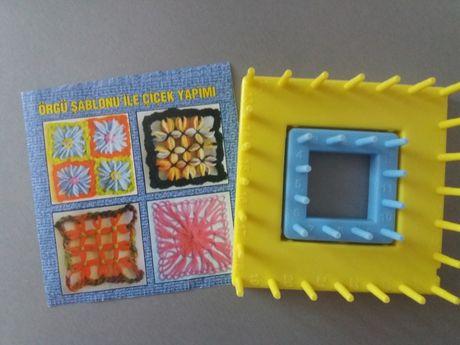 Лума для вязания (плетения) цветов, квадратных элементов