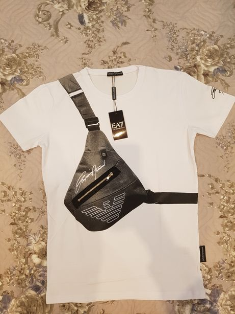 Tricou Emporio Armani, serie noua, nou cu eticheta
