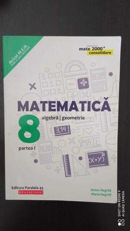 Pachet Matematica clasa a 8-a mate 2000 partea 1 si 2