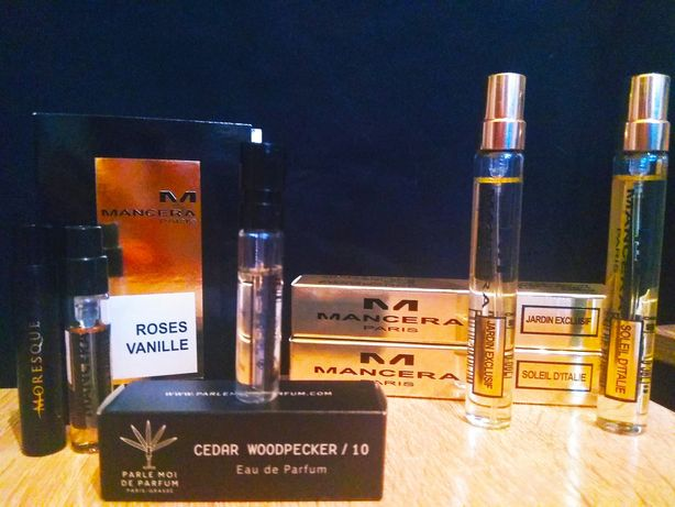 MANSERA парфюм 8 мл, 2 мл, оригинал France.