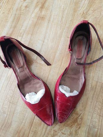 Pantofi dama piele lacuita
