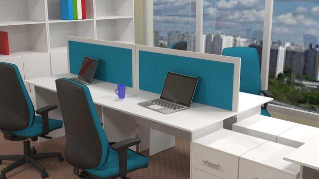 Офисная мебель. Столы от 11000 тг. письменные и рабочие. Перегородки.