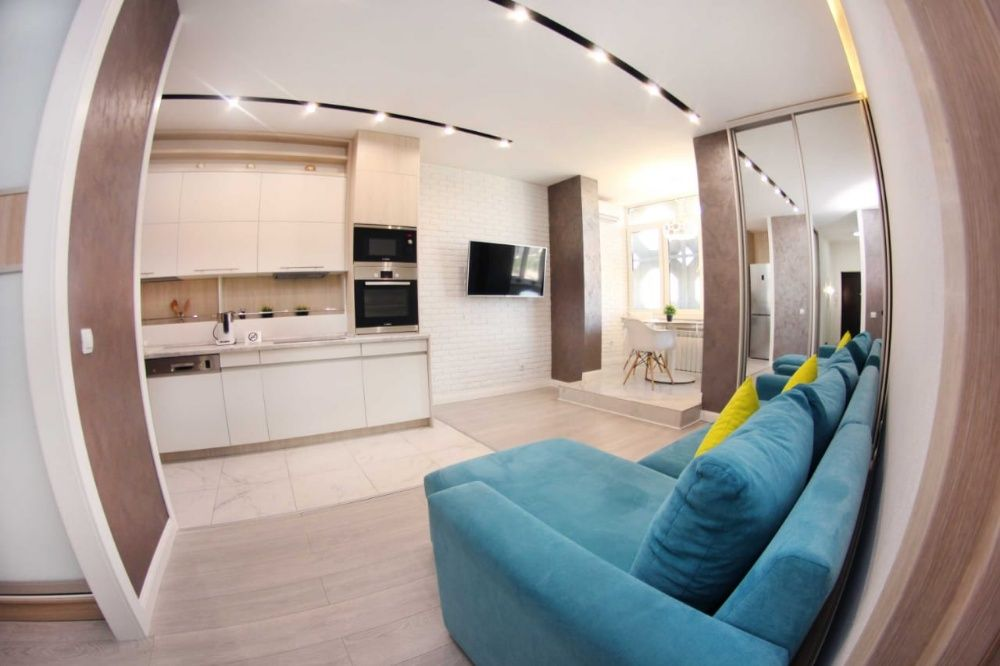 2-комнатные Апартаменты в ЖК Шахристан на Навои Торайгырова Алматы - изображение 1