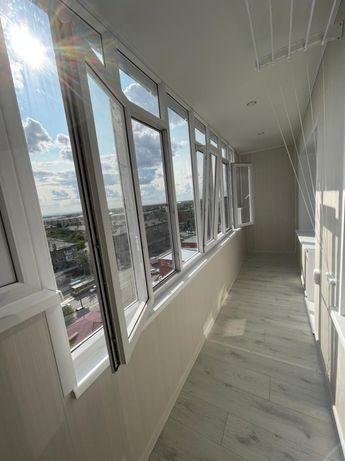 Пластиковые окна, входная группа, пластиковые перегородки, балконы