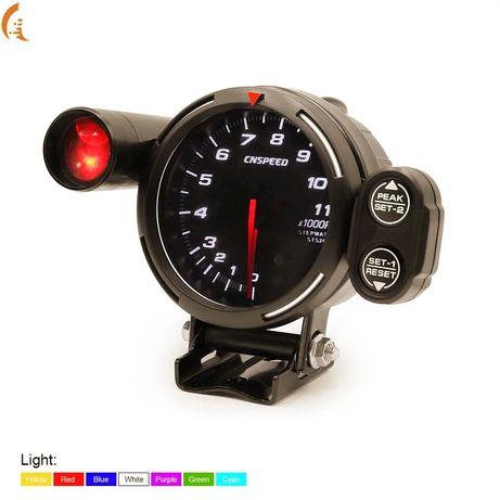 Обортомер с лампа оборотомер със шифт лампа тунинг уреди бустметър 12v