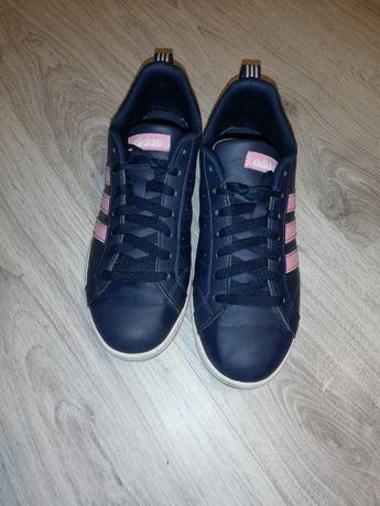 Дамски кожени кецове маратонки Adidas