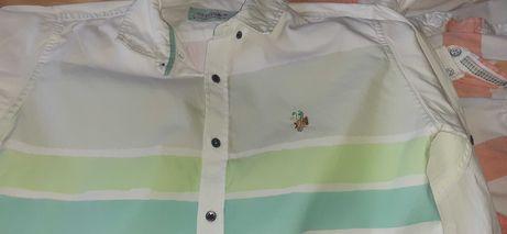 US Polo 12-13 год детска пролетна риза за момче