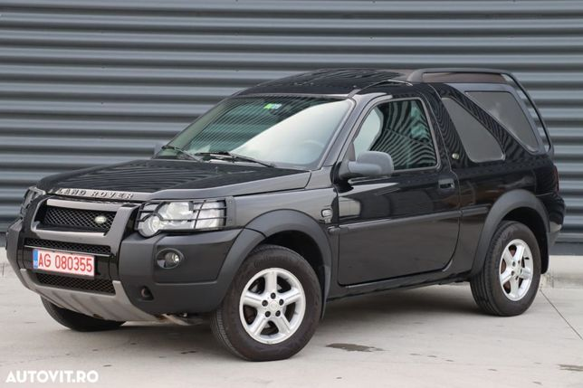 Land Rover Freelander Posibilitate RATE, TD4, automat, 4x4, trapa, decapotabil, km reali