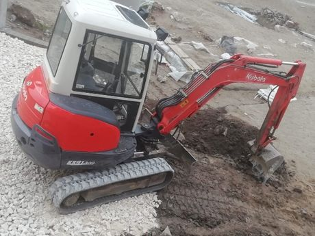 Изкопни дейности с МИНИ БАГЕР и услуги със самосвал до 3.5 тона