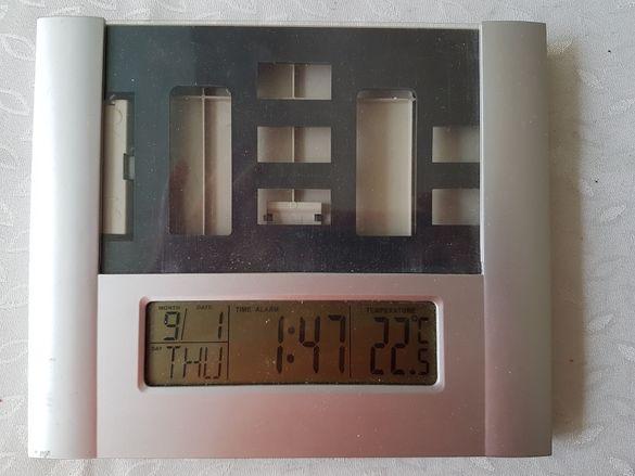 Часовник с място за снимка