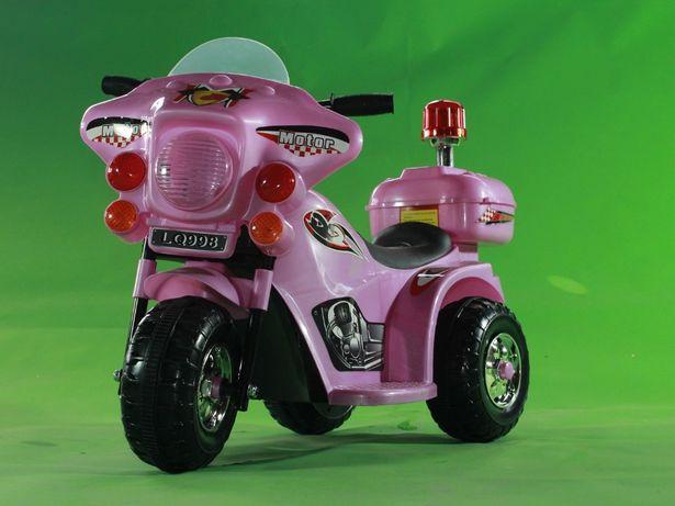Mini Motocicleta electrica cu 3 roti LQ998 STANDARD #Roz