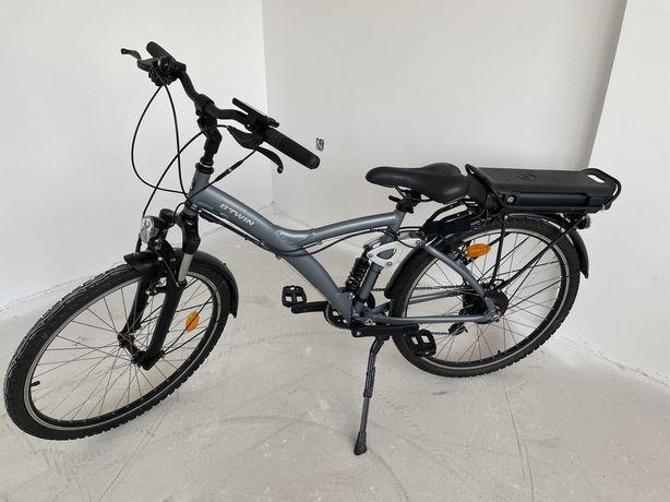 Vand bicicleta electrica B-Twin 920e Riverside, impecabila, nota 10/10
