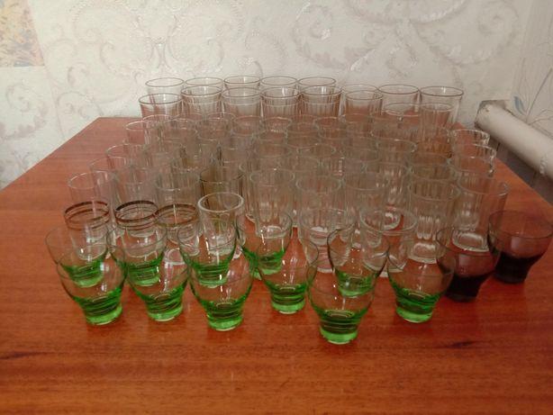 Продам стаканы, рюмки