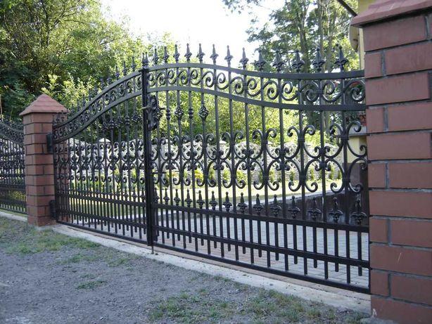 Garduri si porti din fier forjat, sipca, BCA, plasa, placi, jaluzea