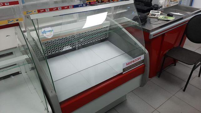 Витринный холодильник, срочно торг