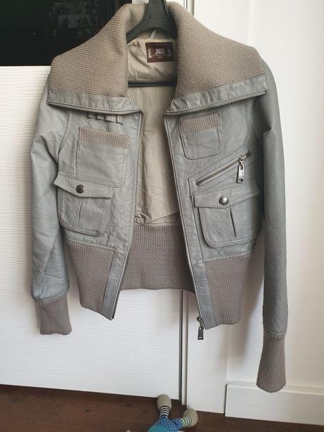 Кожаная куртка Jennifer Lopez