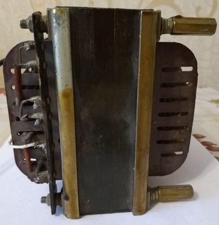 Мощный анодно-накальный трансформатор передатчика