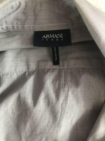 Рубашка Armani Jeans оригинал покупали фирменом магазине Armani
