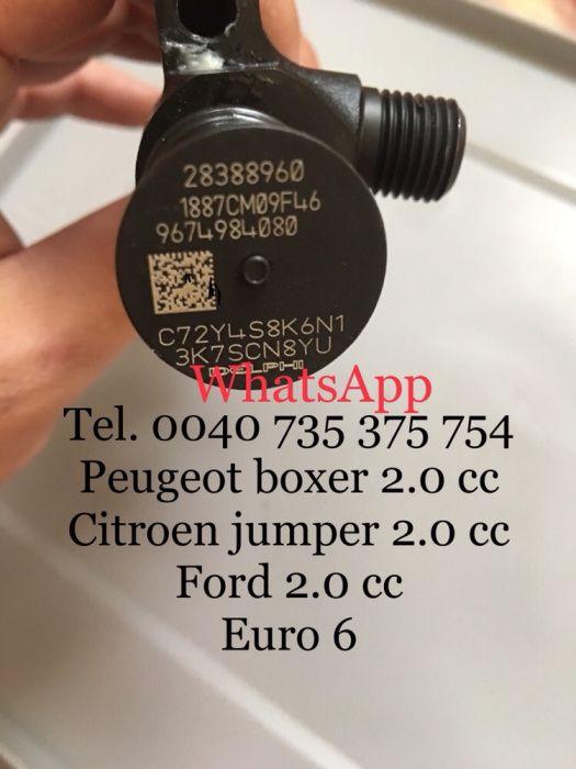 Injector injectoare citroen jumper Peugeot boxer Ford 2.0 euro 6 nou Bucuresti - imagine 1