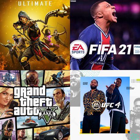 Установка игр на playstation4 ps4 пс4 сони 4 sony4 FIFA GTA UFC