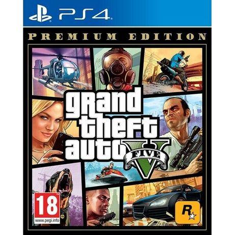 Joc Grand Theft Auto V GTA 5 Premium Edition PS4 PlayStation 4 nou