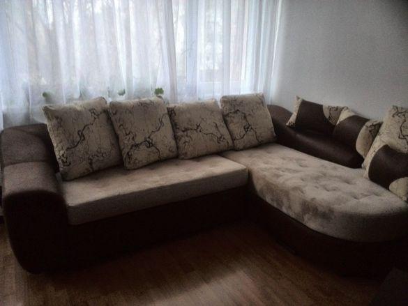 Намален ъглов диван Хюстън комплект с подматрак