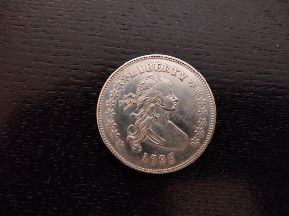 Сребърен долар 1795