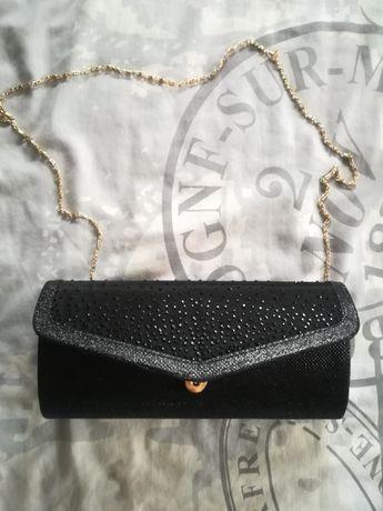Официална Черна Чанта-плик