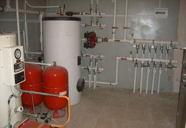 Сервис напольных котлов и промывка теплообменников в Алматы
