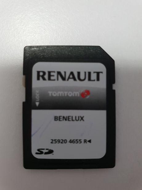 Card navigatie renault TOMTOM