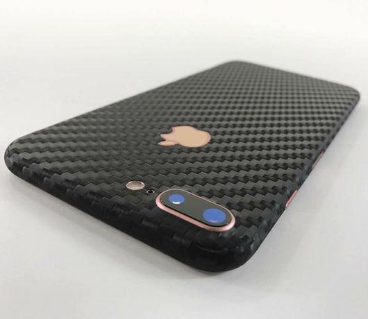 Folie carbon full back cover iPhone 7 Plus , 8 Plus