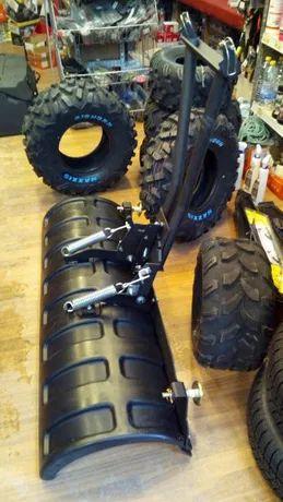 "Lama zapada ATV 52"" 132 cm + sistem prindere (plug zapada) NOU"