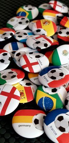 Значки на Световни футболни отбори