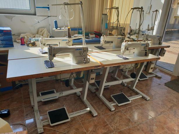 Masini de cusut industriale de confectii textile si piele