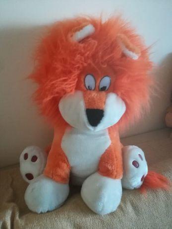 Jucărie leu de plus mare