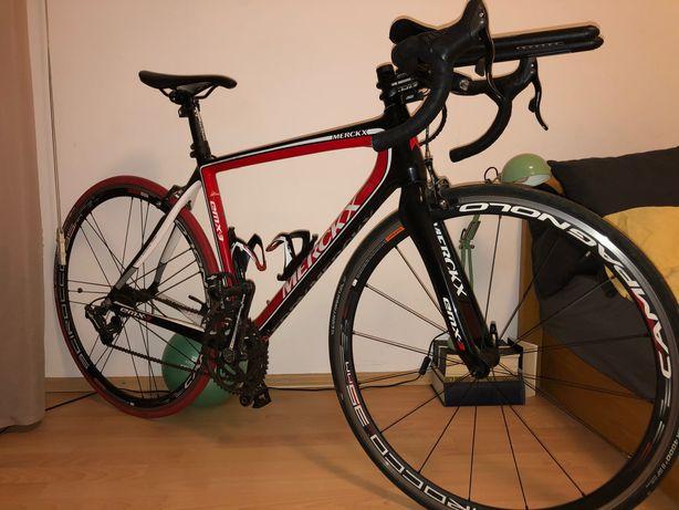 Cursiera carbon bicicleta Eddy Merckx EMX3 Campagnolo Athena