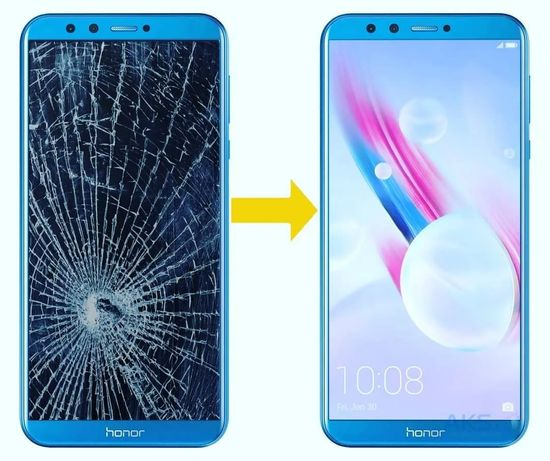 Замена стекла Ремонт Huawei Psmart p20 lite/P30/P40/P8/P9/Mate ремонт