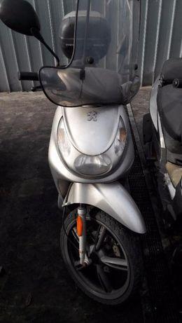 Мотоциклет; скутер пежо локсор 50 (Loxor)-НА ЧАСТИ