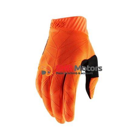 Manusi cross 100% Ridefit portocalii