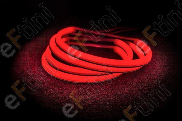 """LED SMD Ангелски очи """"STRONG POWER"""" ЗА BMW E46 / БМВ Е46 - червени"""